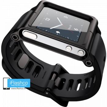 Ремешок / браслет LunaTik Blackout для iPod nano 6 черный