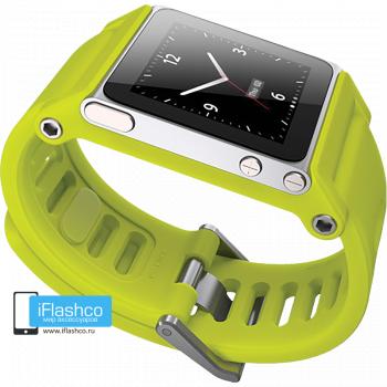 Ремешок / браслет LunaTik TikTok для iPod nano 6 желтый