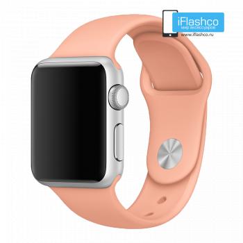 Силиконовый ремешок Apple Sport Band Flamingo 38 - 40mm