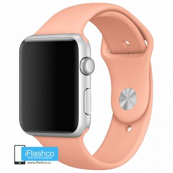 Силиконовый ремешок Apple Sport Band Flamingo 42 - 44mm
