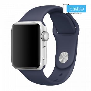 Силиконовый ремешок Apple Sport Band Midnight Blue 38 - 40mm