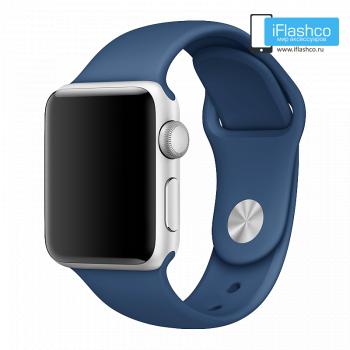 Силиконовый ремешок Apple Sport Band Ocean Blue 38 - 40mm
