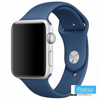 Силиконовый ремешок Apple Sport Band Ocean Blue 42 - 44mm