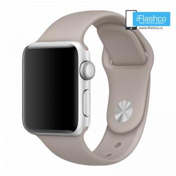 Силиконовый ремешок Apple Sport Band Pebble 38 - 40mm