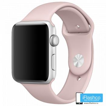 Силиконовый ремешок Apple Sport Band Pink Sand 42 - 44mm
