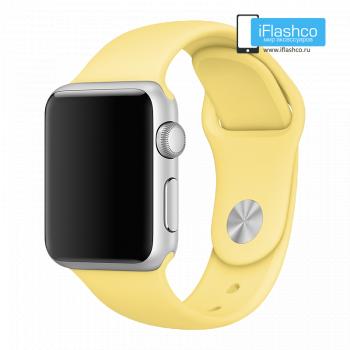 Силиконовый ремешок Apple Sport Band Pollen 38 - 40mm