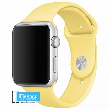 Силиконовый ремешок Apple Sport Band Pollen 42 - 44mm