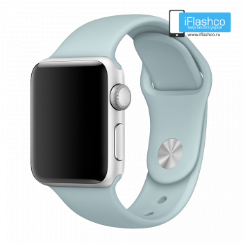 Силиконовый ремешок Apple Sport Band Turquoise 38 - 40mm