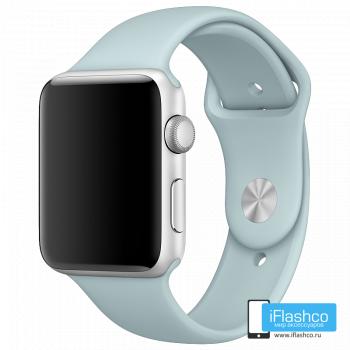 Силиконовый ремешок Apple Sport Band Turquoise 42 - 44 мм