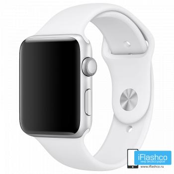 Силиконовый ремешок Apple Sport Band White 42 - 44 мм