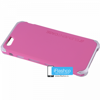 Solace для iPhone 6 / 6s розовый с серым