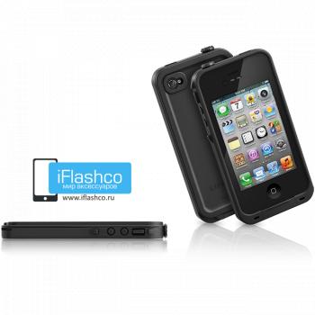 Водонепроницаемый чехол LifeProof fre iPhone 4 / 4S черный