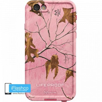 Водонепроницаемый чехол LifeProof fre REALTREE XTRA PINK для iPhone 6 / 6s