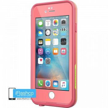 Водонепроницаемый чехол LifeProof fre Sunset Pink для iPhone 6 / 6s розовый