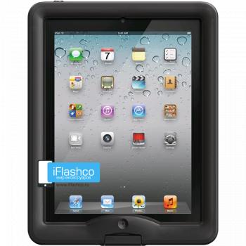 Водонепроницаемый чехол LifeProof nuud для iPad 2 / New / 4 черный