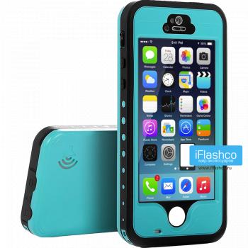 Водонепроницаемый чехол Redpepper iPhone 5 / 5S / SE бирюзовый