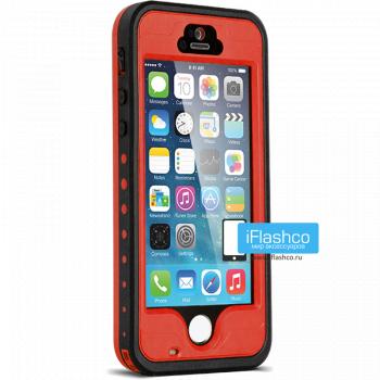 Водонепроницаемый чехол Redpepper iPhone 5 / 5S / SE красный