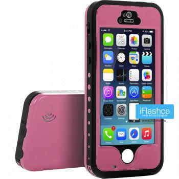 Водонепроницаемый чехол Redpepper iPhone 5 / 5S / SE розовый