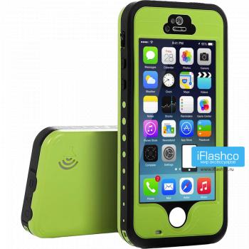 Водонепроницаемый чехол Redpepper iPhone 5 / 5S / SE зеленый