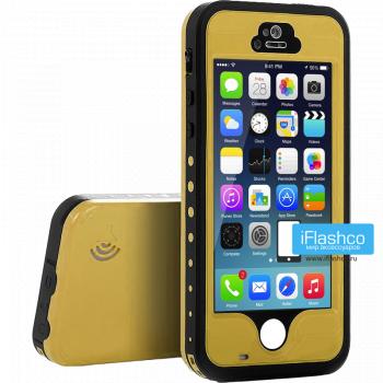 Водонепроницаемый чехол Redpepper iPhone 5 / 5S / SE желтый