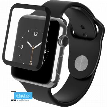 Защитное 3D-стекло Tempered Glass 3D Curved для Apple Watch 42 мм