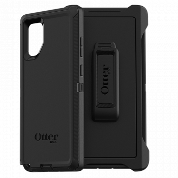 Ударопрочный чехол OtterBox Defender для Samsung Galaxy Note 10+ Black