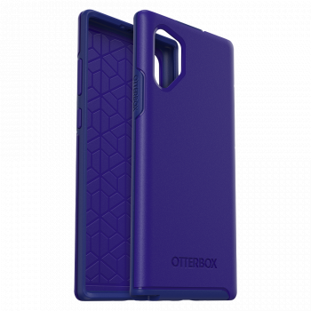 Чехол ударопрочный OtterBox Symmetry Sapphire Secret Blue для Samsung Galaxy Note 10+ синий