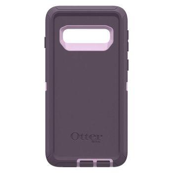 Чехол OtterBox Defender Purple Nebula для Samsung Galaxy S10 фиолетовый