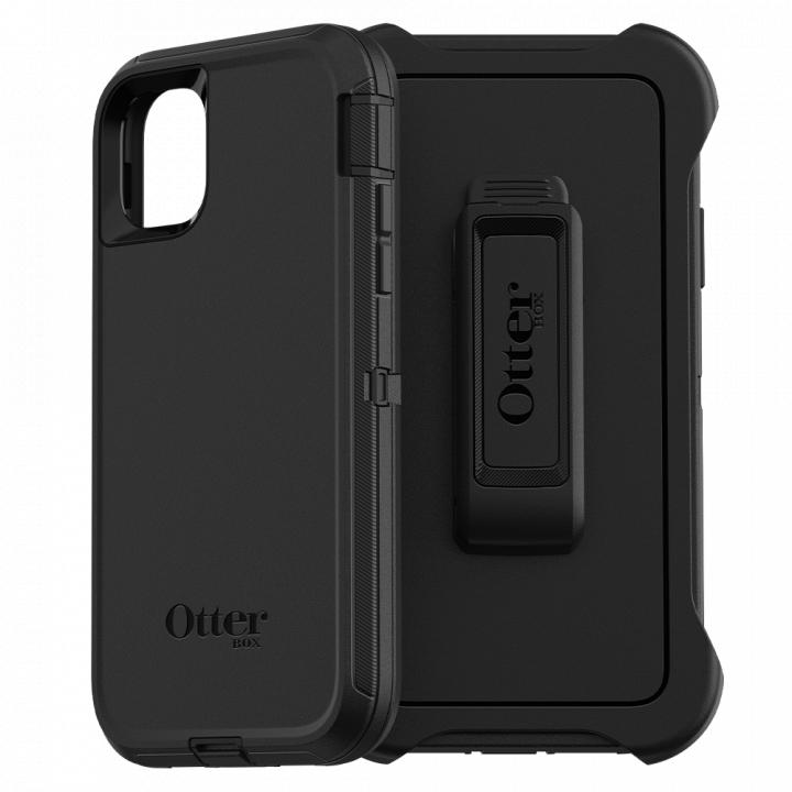 Ударопрочный чехол OtterBox Defender для iPhone 11 Black
