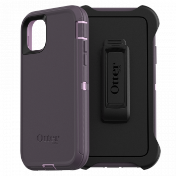 Ударопрочный чехол OtterBox Defender для iPhone 11 Purple Nebula