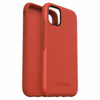 Ударопрочный чехол OtterBox Symmetry для iPhone 11 Risk Tiger Red/Orange