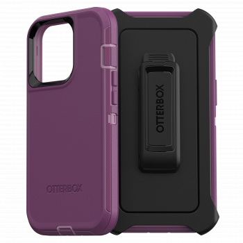 Ударопрочный чехол OtterBox Defender для iPhone  13 Pro Happy Purple