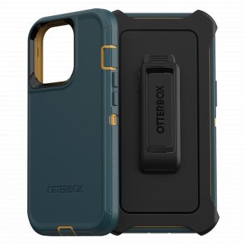 Ударопрочный чехол OtterBox Defender для iPhone  13 Pro Hunter Green