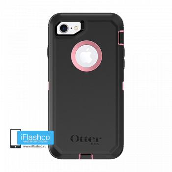 Чехол OtterBox Defender для iPhone 7 / 8 Pink in Black