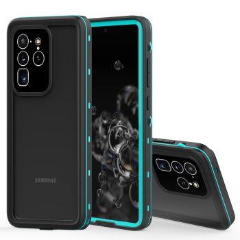 Водонепроницаемый ударопрочный чехол Redpepper Dot+ Series для Samsung Galaxy S20+ Blue