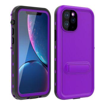 Ударопрочный и водонепроницаемый чехол Redpepper Dot+ Purple для iPhone 11 Pro Max фиолетовый