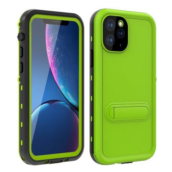 Ударопрочный и водонепроницаемый чехол Redpepper Dot+ Green для iPhone 11 Pro Max зеленый