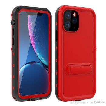 Ударопрочный и водонепроницаемый чехол Redpepper Dot+ Red для iPhone 11 Pro Max красный