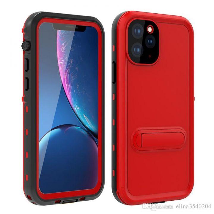 Ударопрочный и водонепроницаемый чехол Redpepper Dot+ Red для iPhone 11 красный