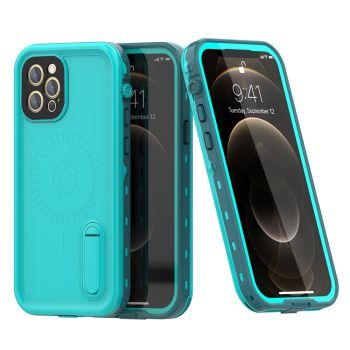 Ударопрочный и водонепроницаемый чехол Redpepper Dot+ Sea Blue для iPhone 12 Pro голубой