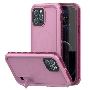 Ударопрочный и водонепроницаемый чехол Redpepper Dot+ Pink для iPhone 12 Pro Max розовый