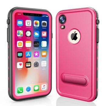 Водонепроницаемый ударопрочный чехол Redpepper Dot+ Series для iPhone XR Pink