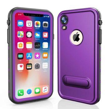 Водонепроницаемый ударопрочный чехол Redpepper Dot+ Series для iPhone XR Purple