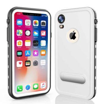Водонепроницаемый ударопрочный чехол Redpepper Dot+ Series для iPhone XR White