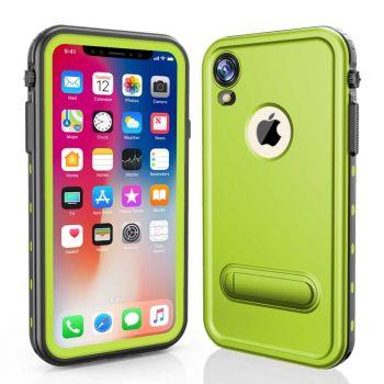 Водонепроницаемый ударопрочный чехол Redpepper Dot+ Series для iPhone XR Green