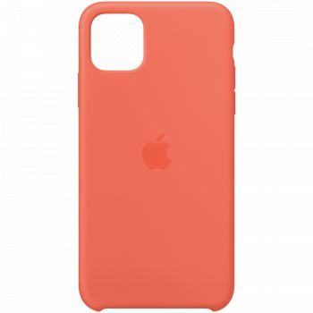 Чехол Apple Silicone Case Clementine (Orange) для iPhone 11