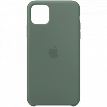 Чехол Apple Silicone Case Pine Green для iPhone 11
