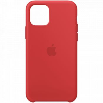 Чехол Apple Silicone Case Red для iPhone 11