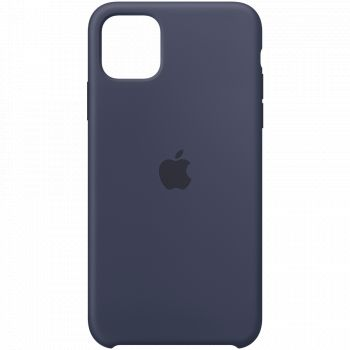 Чехол Apple Silicone Case Midnight Blue для iPhone 11