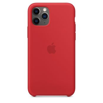 Чехол Apple Silicone Case Red для iPhone 11 Pro
